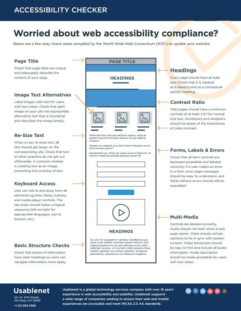 Web Accessibility Checker