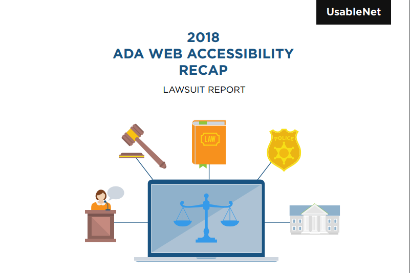 UsableNet Report Raises Awareness of Website Accessibility