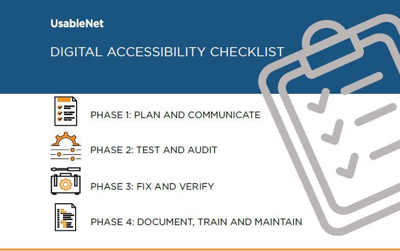 Digital Accessibility Initiative [Checklist]