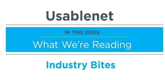 Industry Bites: February 2015 Issue 1 [Newsletter]